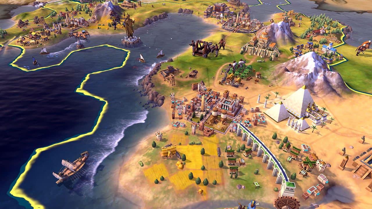 game offline chien thuat hay nhat Civilization VI