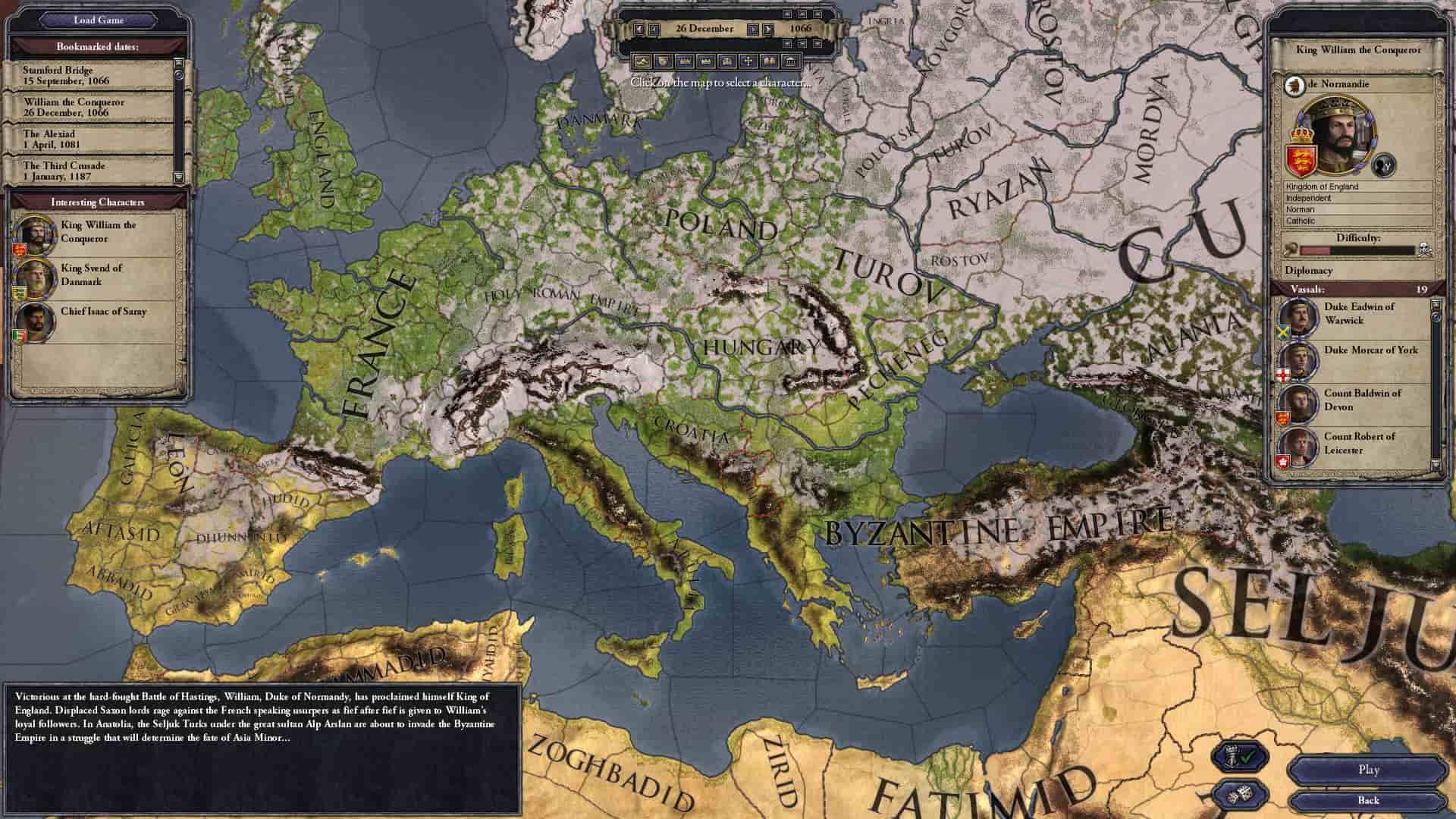 game offline chiến thuật hay cho PC Crusader Kings II
