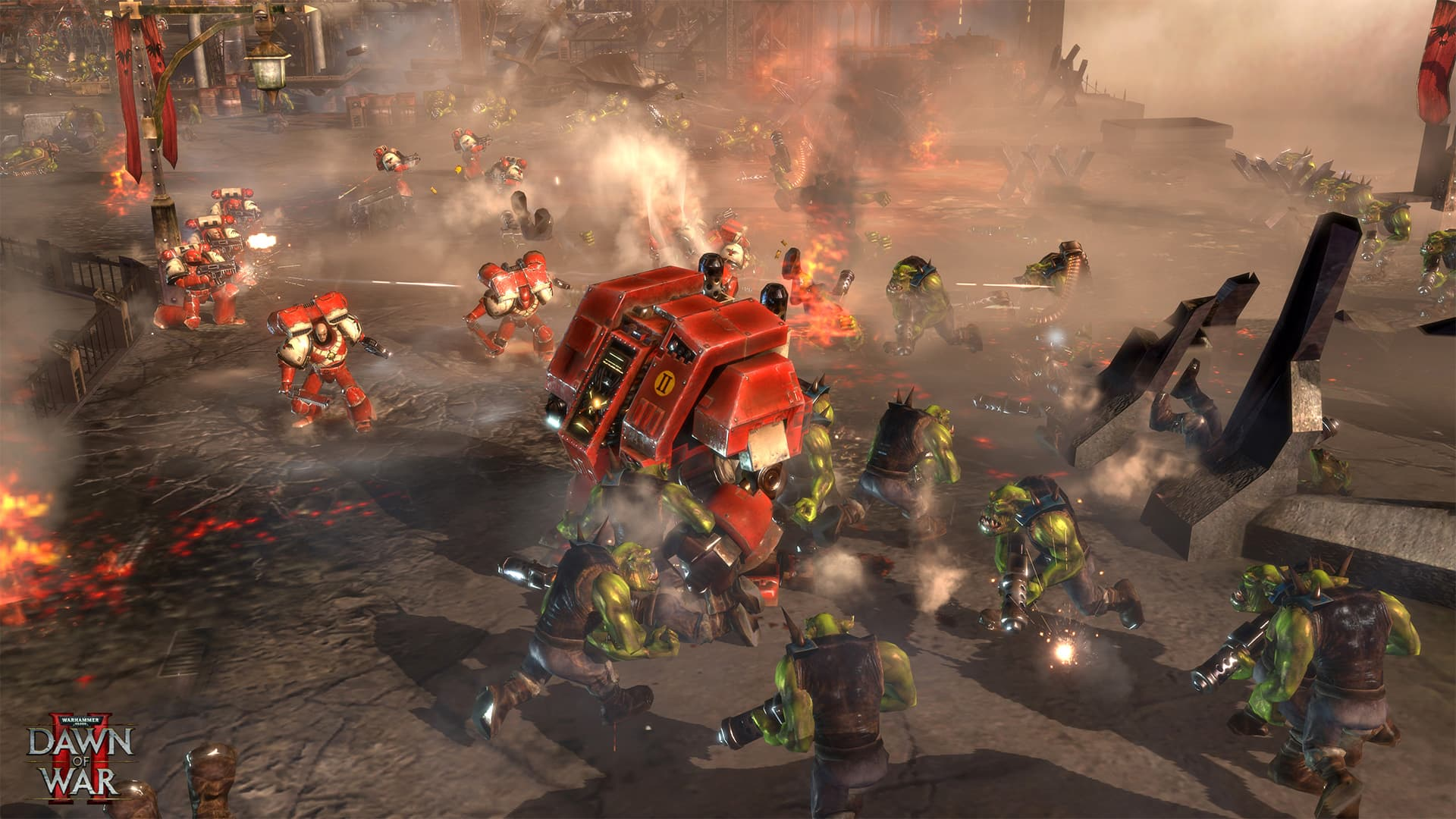 game chiến thuật offline trên pc Warhammer 40,000: Dawn of War II