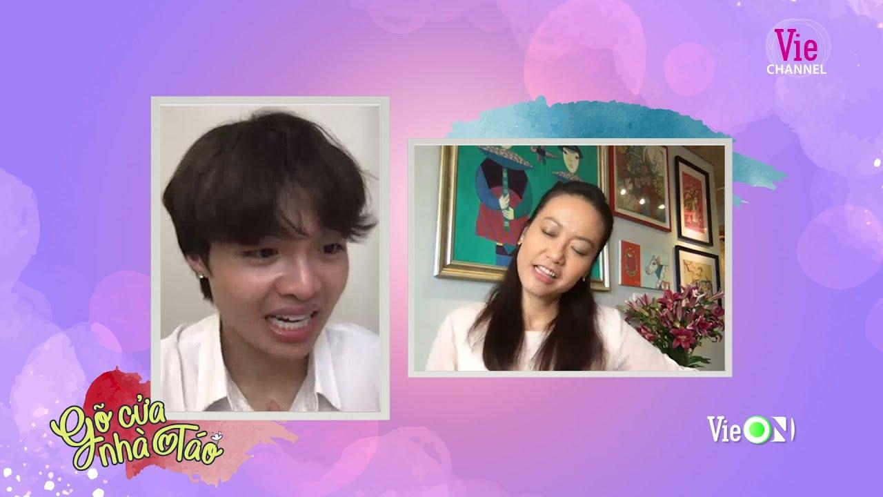 """Hồng Ánh tiết lộ hậu trường """"nụ hôn dễ thương"""" với Thái Hòa   #4 GÕ CỬA NHÀ TÁO"""