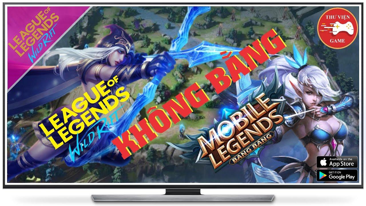 LMHT Tốc Chiến || KHÔNG BẰNG MOBILE LEGENDS: BANG BANG || Thư Viện Game