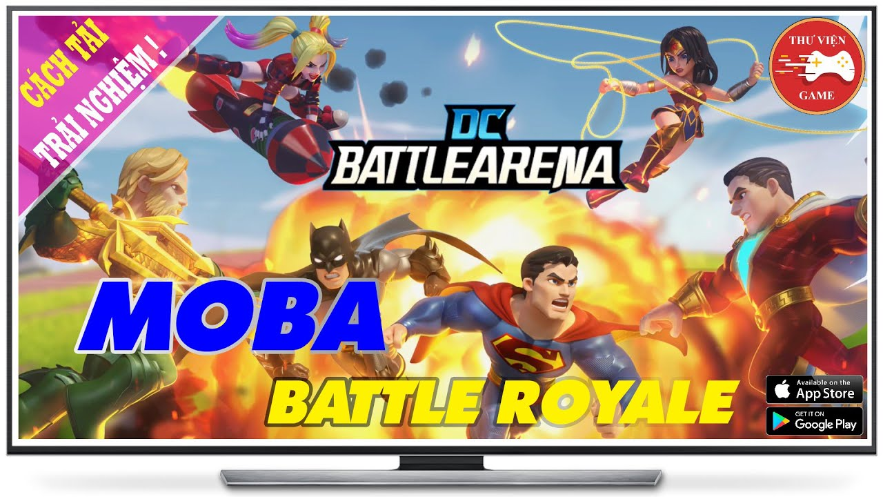 NEW GAME || DC Battle Arena - Game SINH TỒN + MOBA CỰC CUTE || Thư Viện Game