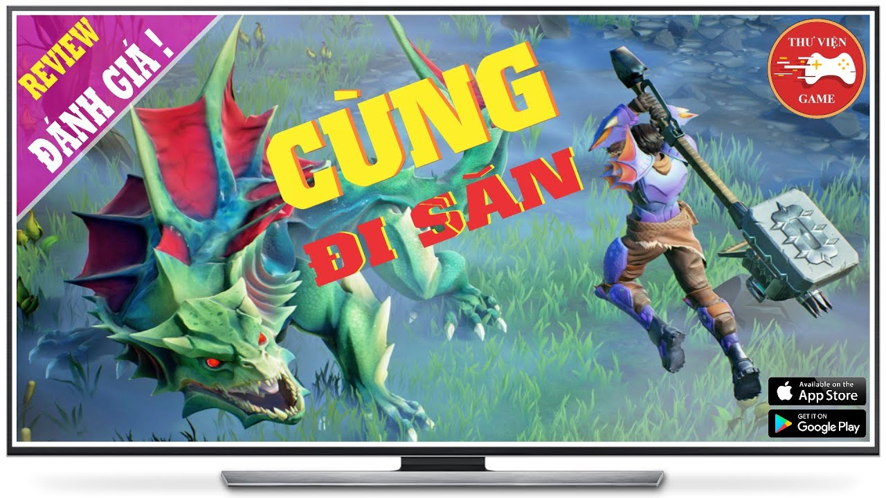 NEW GAME || Dauntless Mobile - Game HAY PC/CONSOLE cập bến Mobile || Thư Viện Game