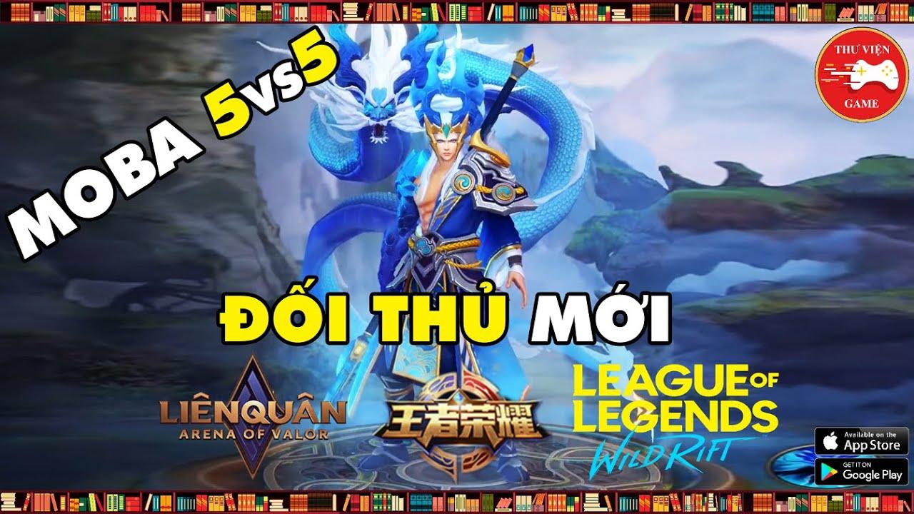 NEW GAME || Legends of Glory - CÁCH TẢI và TRẢI NGHIỆM MOBA 5vs5 CỰC ĐẸP || Thư Viện Game