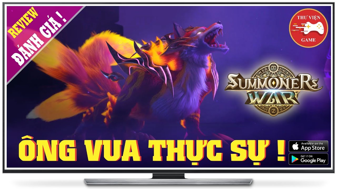 NEW GAME || Summoners War: Sky Arena - ÔNG VUA GAME CHIẾN THUẬT || Thư Viện Game