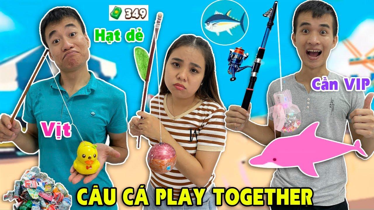 Câu cá trong game Play Together ngoài đời thật (Play Together Real Life)