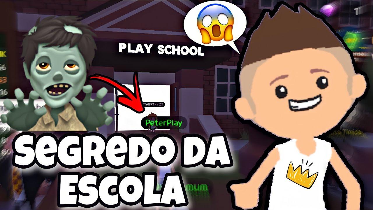 DESCOBRI O SEGREDO ASSUSTADOR DA ESCOLA EM PLAY TOGETHER! PETER GAMES