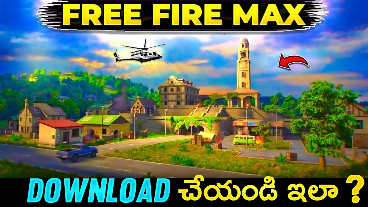 FREE FIRE MAX HOW TO DOWNLOAD || FREE FIRE MAX GAME PLAY