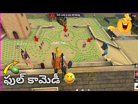 Free Fire Funny Game play telugu | Funny Moment's Free fire | Hello Telugu Gamers