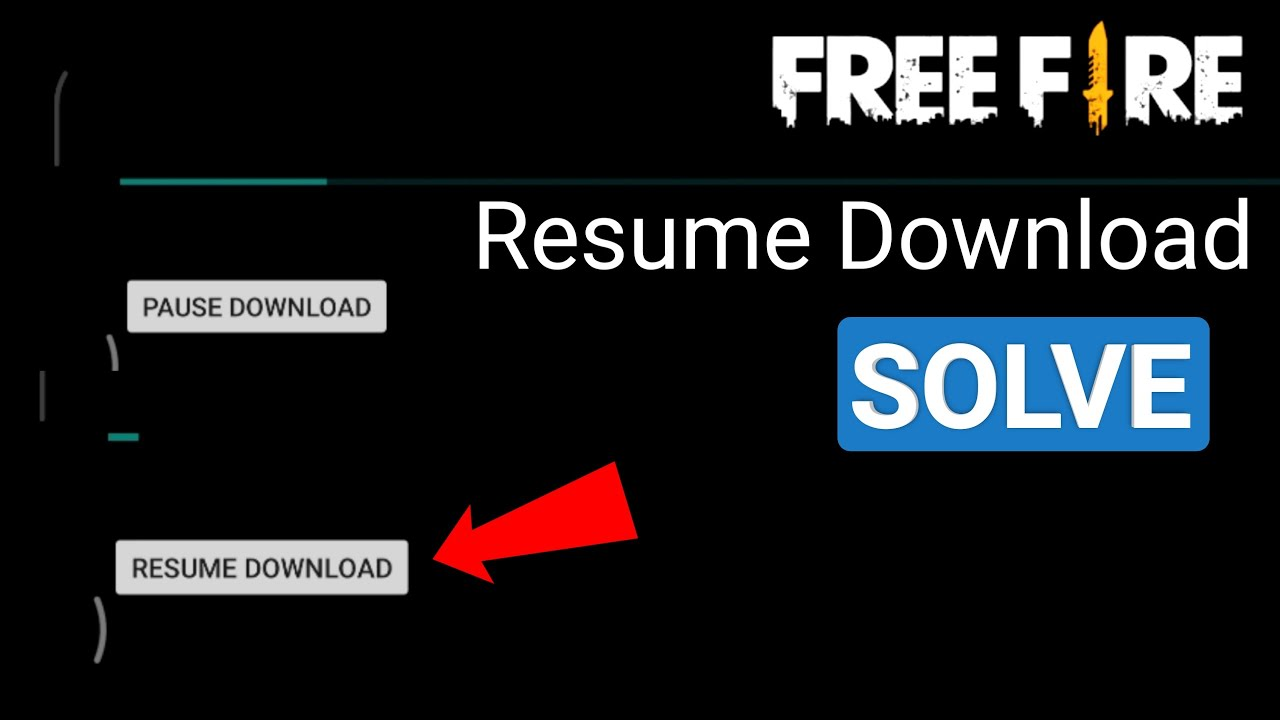 Free Fire Game Rusume Download problem solve kaise kare | How to fix free fire game Rusume download