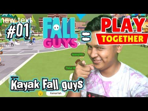 Game Simulator Kayak Fall Guys - Play Together #1