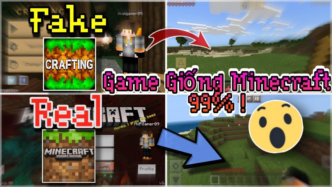 🔥Hướng Dẫn Tải Game Giống Minecraft Đến 99%