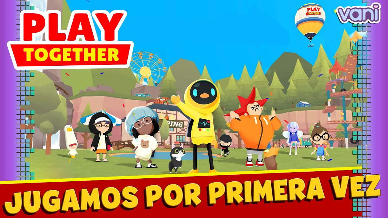JUGAMOS POR PRIMERA VEZ A PLAY TOGETHER !!
