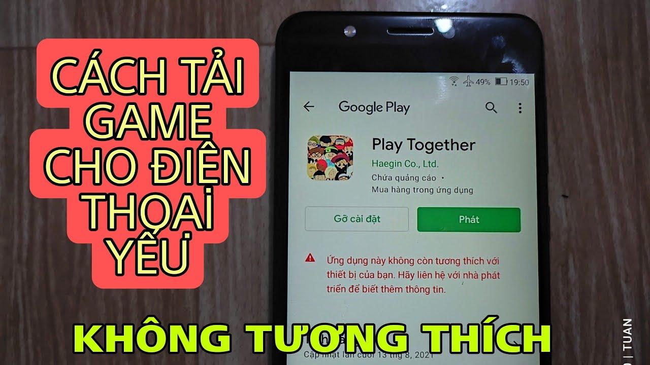 Play Together | Cách Tải Game Play Together Trên Android Cho Máy Yếu, Điện Thoại Không Tương Thích